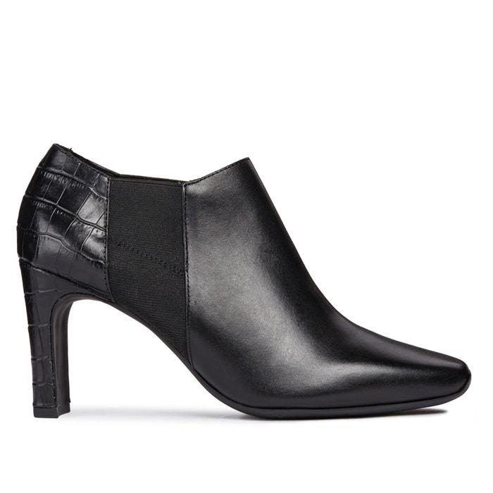 ec7ab46a7e D vivyanne high ankle boots black Geox | La Redoute