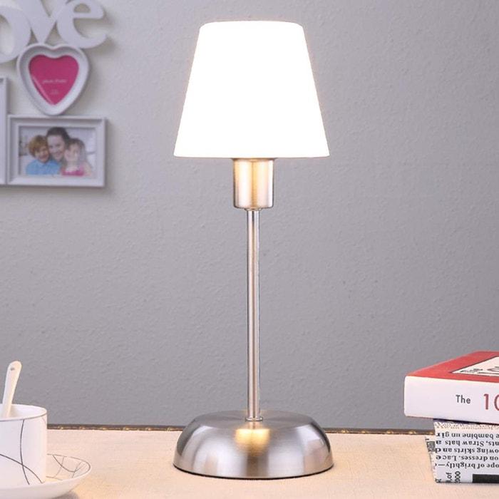 lampe poser en m tal avec variateur d 39 intensit tactile intensit variable gregor pour. Black Bedroom Furniture Sets. Home Design Ideas