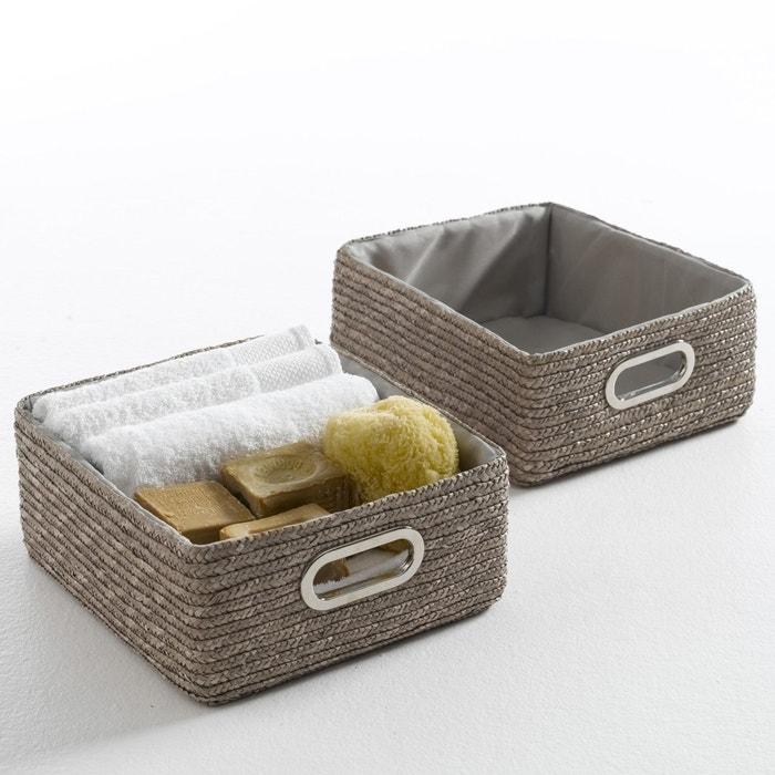 paniers de rangement lot de 2 majong les petits prix. Black Bedroom Furniture Sets. Home Design Ideas