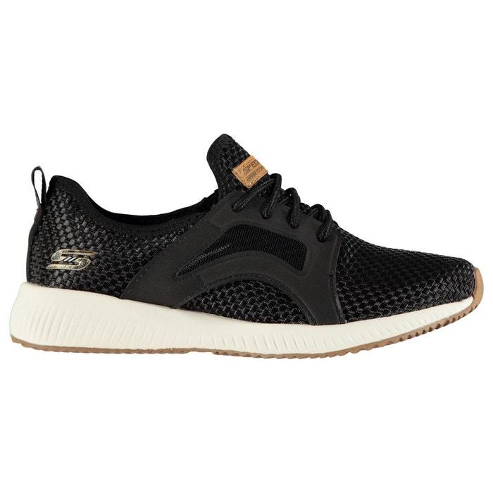 Baskets de running à lacets noir Skechers Visiter Le Nouveau Prix Pas Cher JoIHk7cf