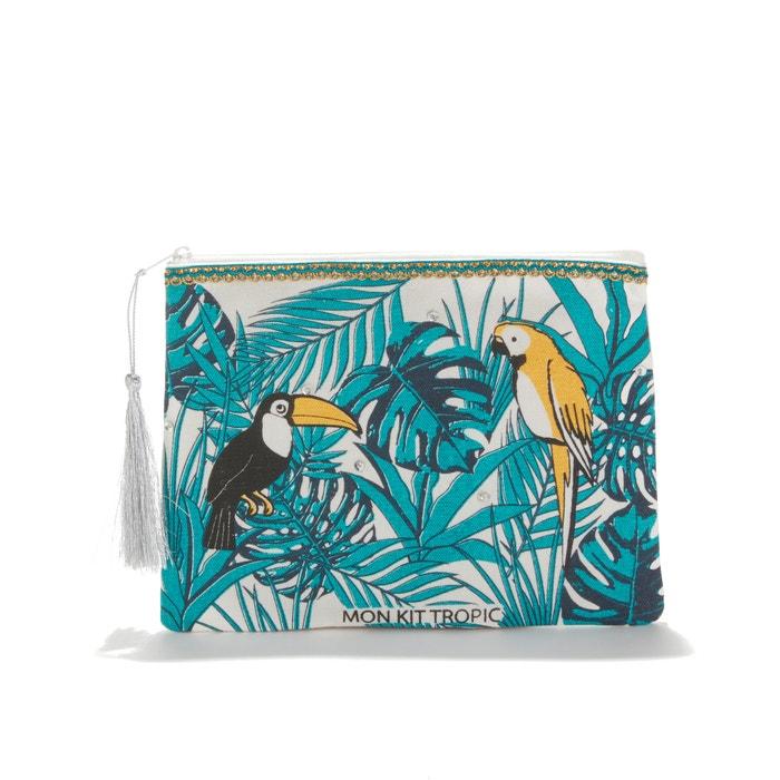 4bfb87fde5c Mon kit tropique zip-up tassel trim clutch bag , multi-coloured, Petite  Mendigote | La Redoute
