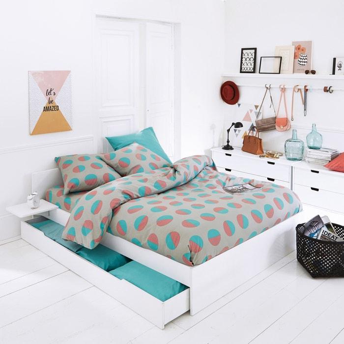 Circlo Cotton Duvet Cover and Pillowcase Set  La Redoute Interieurs image 0