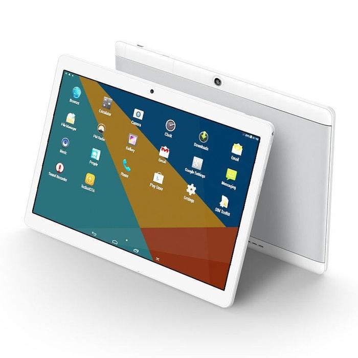 tablette tactile 10 pouces 3g quad core android ips full hd otg 16go argent yonis la redoute. Black Bedroom Furniture Sets. Home Design Ideas