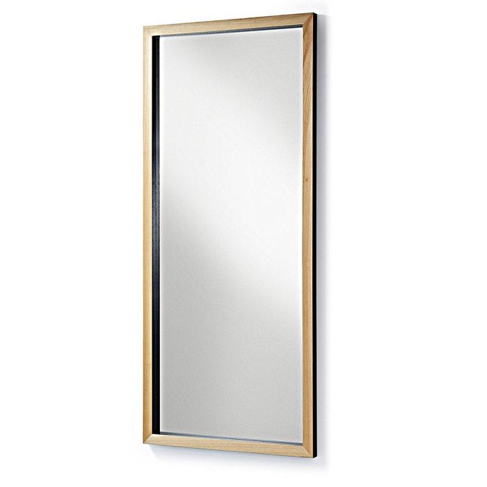 Miroir Enzo, noir 78x178 cm KAVEHOME
