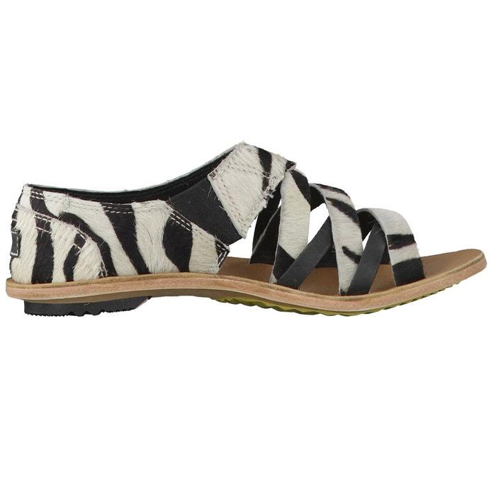 Sandales lake shoe ii nl1812 noir/blanc Sorel ...