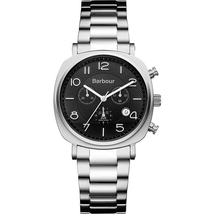 Montre homme analogique bracelet métal boitier 42 mm beacon chrono gris Barbour | La Redoute Prix Incroyable Finishline Sortie ToE9fJ
