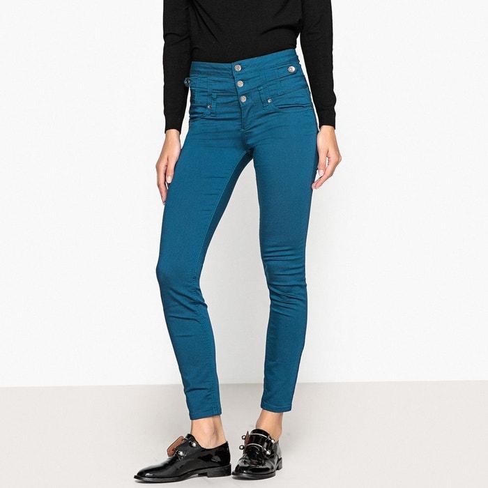 6005da84d5a2c Jean slim taille haute rampy, long. 30 bleu Liu Jo | La Redoute