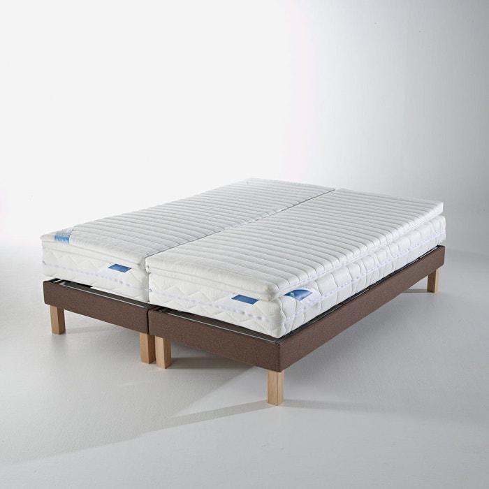 surmatelas sp cial literie de relaxation en mousse blanc la redoute interieurs la redoute. Black Bedroom Furniture Sets. Home Design Ideas