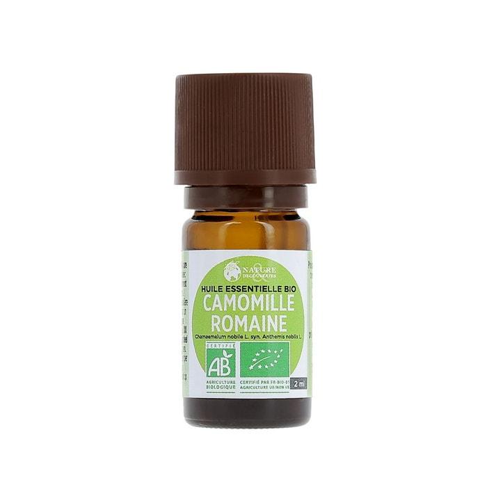 Huile essentielle bio camomille romaine couleur unique nature et decouvertes - Diffuseur huile essentielle nature et decouverte ...