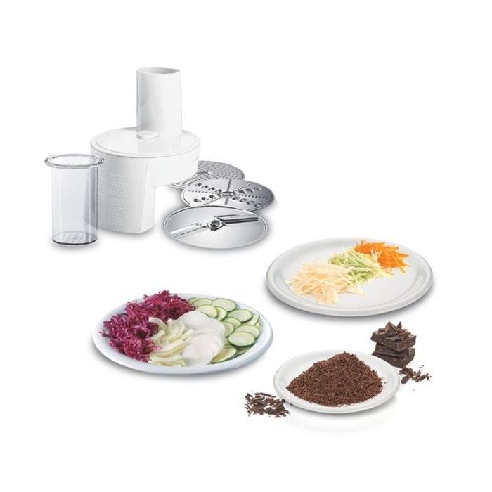 robot de cuisine bosch mum4825 blanc bosch la redoute. Black Bedroom Furniture Sets. Home Design Ideas