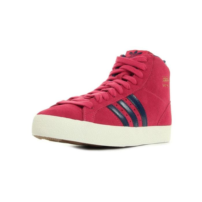 Basket profi rouge, bleu marine, blanc Adidas