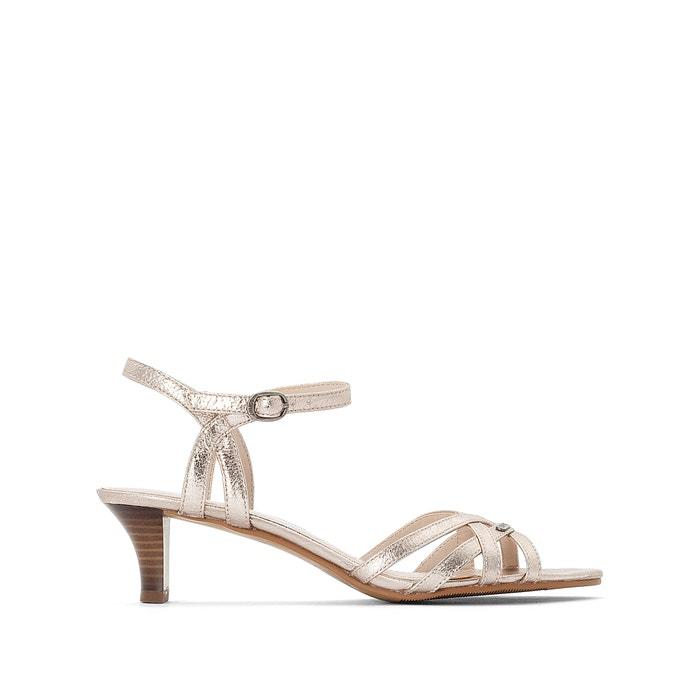f0965b2aa557 Strappy iridescent sandals