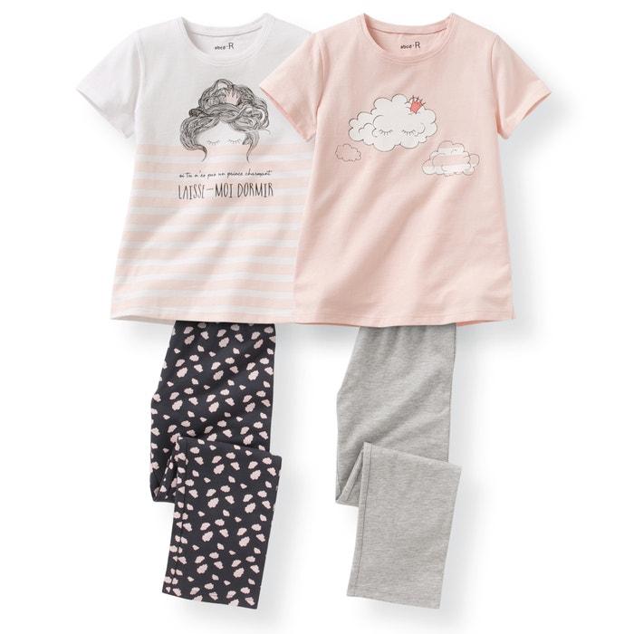 afbeelding Pyjama (set van 2) La Redoute Collections