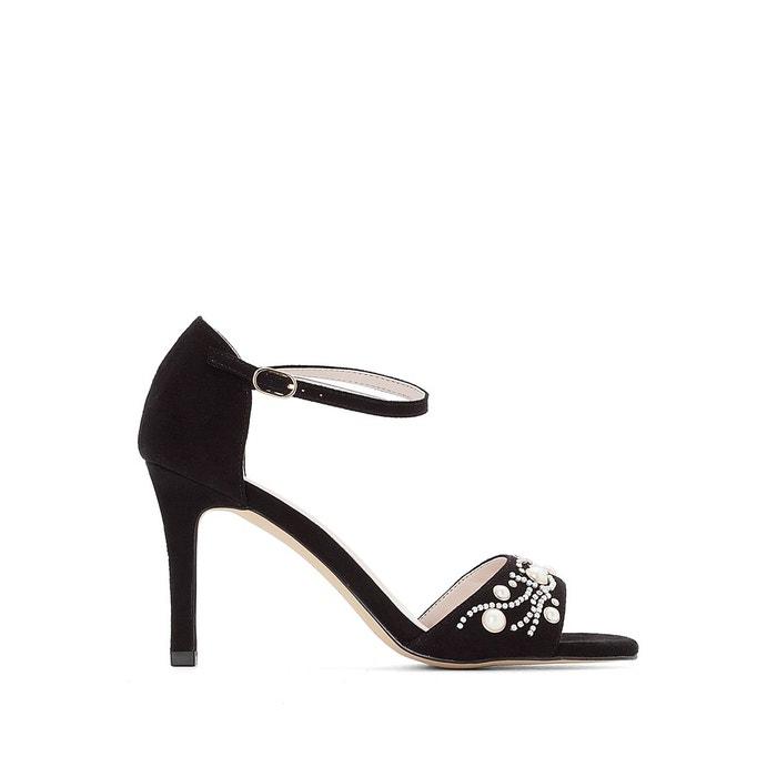 Sandales détail bijoux   noir Mademoiselle R   La Redoute