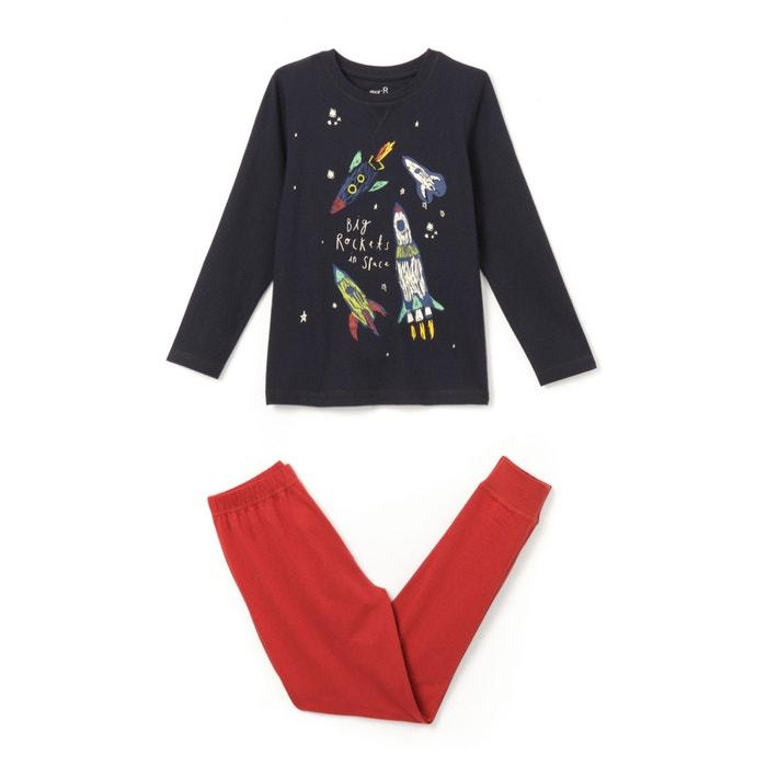 Image Pyjama imprimé phosphorescent 3-12 ans La Redoute Collections