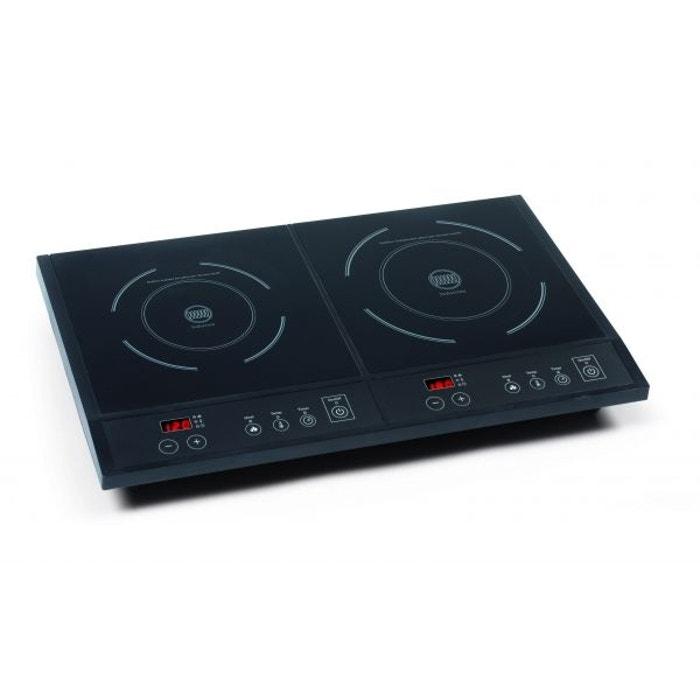 double plaque de cuisson induction type domino feux 1600 et 1800w couleur unique domo la. Black Bedroom Furniture Sets. Home Design Ideas