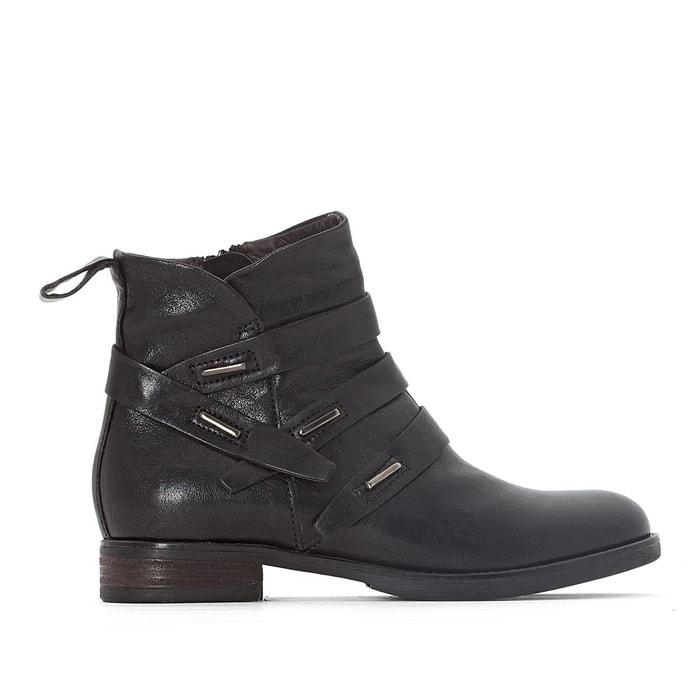Boots cuir gemini noir Mjus Vente De Nombreux Types De Obtenir Authentique À Vendre Large Gamme De Réduction kzFkG