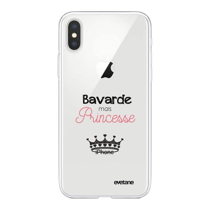coque iphone xs max princesse