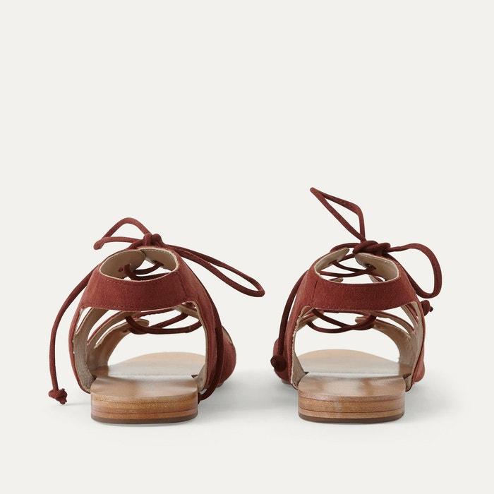 Sandales cuir brique Petite Mendigote