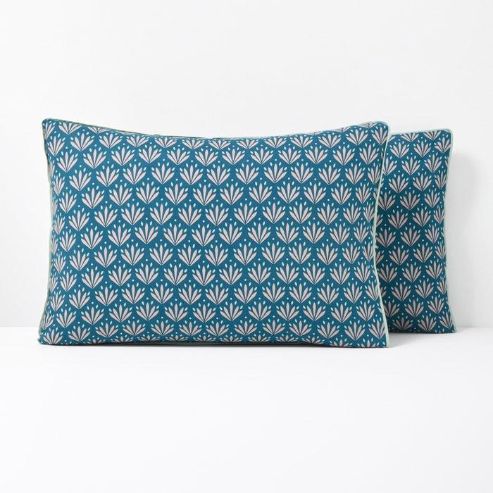 ÉVENTAIL Vintage Print Cotton Pillowcase  La Redoute Interieurs image 0