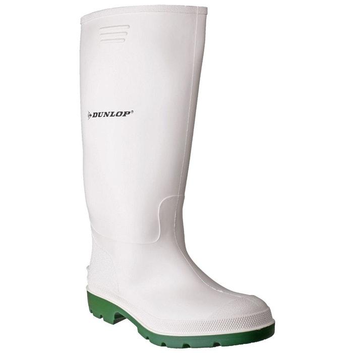 Dunlop pricemastor 380bv - bottes imperméables - homme blanc/vert Dunlop