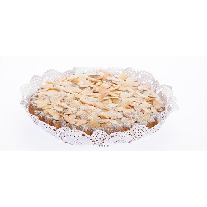 Tarte amandine aliment factice h 3 5 cm et d 20 cm for Palmier factice