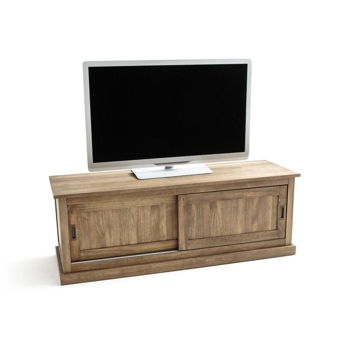 LUNJA Solid Pine TV Unit  La Redoute Interieurs image 0