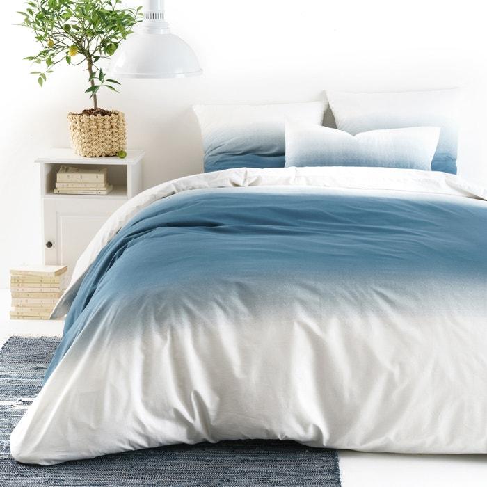 ombre duvet cover blue la redoute interieurs la redoute. Black Bedroom Furniture Sets. Home Design Ideas
