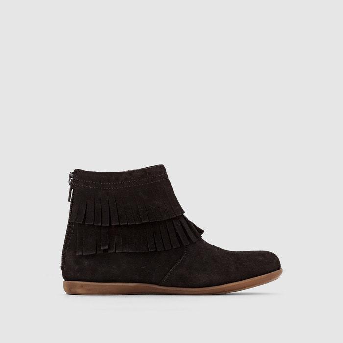 Moda la pelle boots