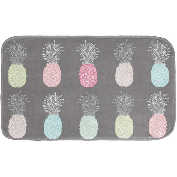 tapis de bain modele ananas gris douceur d 39 int rieur la. Black Bedroom Furniture Sets. Home Design Ideas