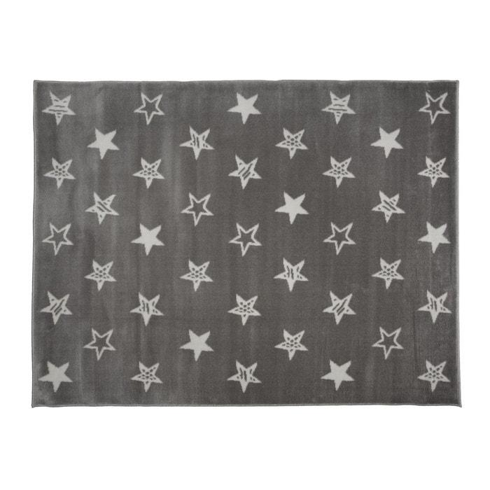Tapis enfant coton acrylique gris toiles blanches gris lilipouce la redoute - Tapis enfant la redoute ...