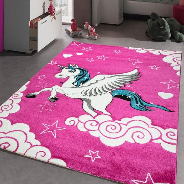 tapis kids licorne tapis enfants unamourdetapis plusieurs dimensions et couleurs disponibles. Black Bedroom Furniture Sets. Home Design Ideas