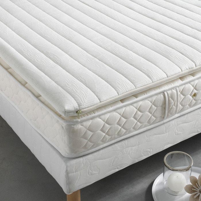 surmatelas grand confort en mousse visco lastique cru la redoute interieurs la redoute. Black Bedroom Furniture Sets. Home Design Ideas