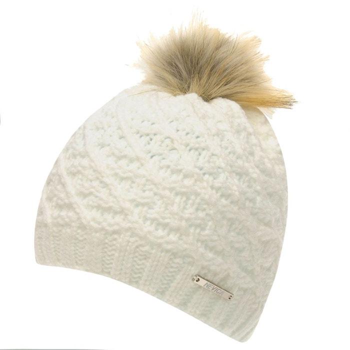 1dc6e84bc6da Chapeau de ski bonnet polaire blanc Nevica   La Redoute