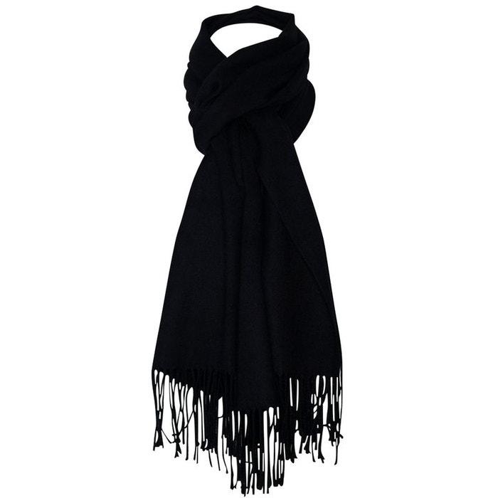 35dcec54d37e Echarpe cachemire noir Chapeau-Tendance   La Redoute