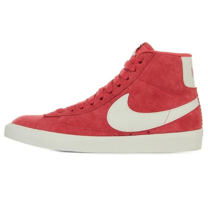 Baskets femme blazer mid vintage suede rouge/blanc Nike