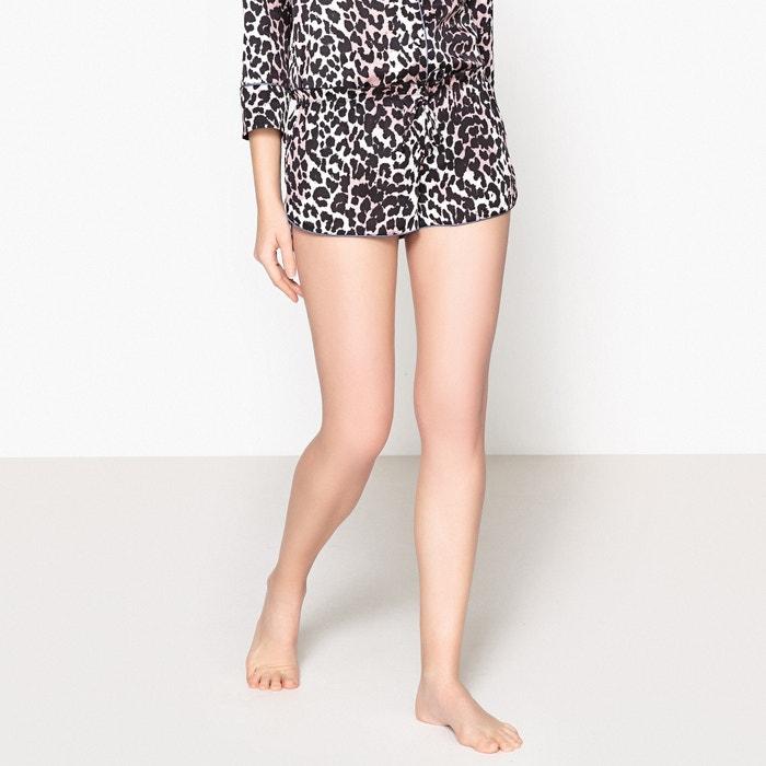Audrey Leopard Print Pyjama Shorts  LOVE STORIES image 0