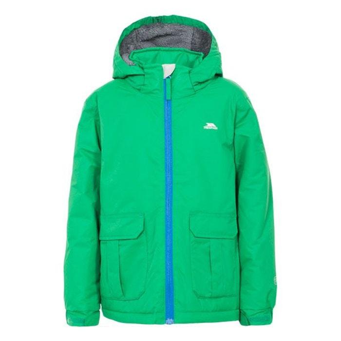 a60e38b335233 Flemington - blouson enfant - garçon vert Trespass