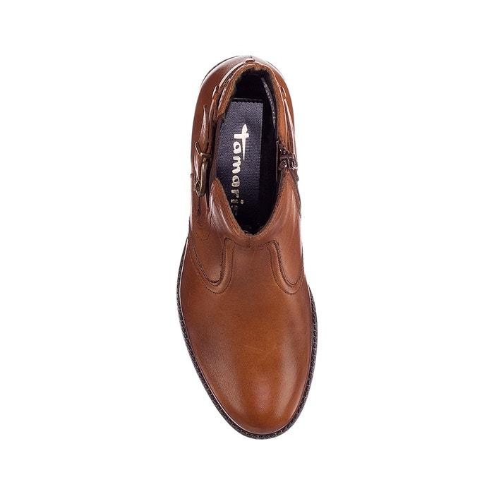 Monsieur / Dame les bottes bottes bottes en cuir, chameau, tamaris Haute sécurité Apparence agréable moins cher e854be