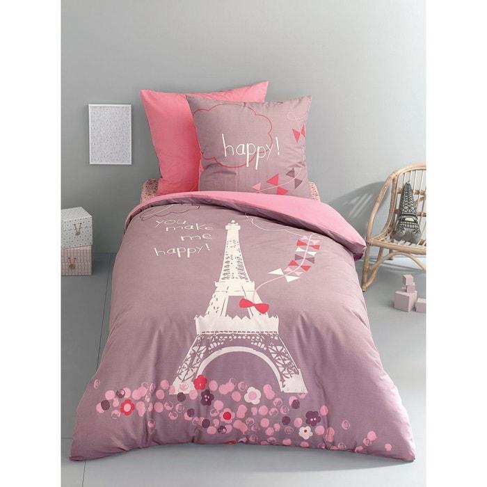 parure housse de couette taie d 39 oreiller enfant une nuit. Black Bedroom Furniture Sets. Home Design Ideas