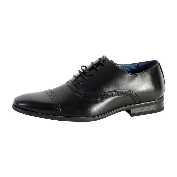 Chaussure derby noir noir Enzo Marconi