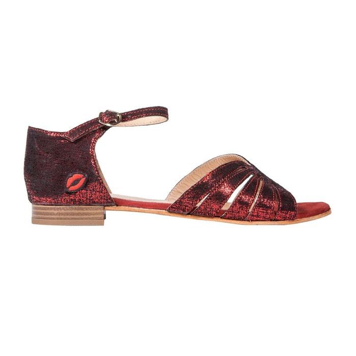 Sandales jessica ruby Bons Baisers De Paname Gros Pas Cher Vente Authentique ff9sI2
