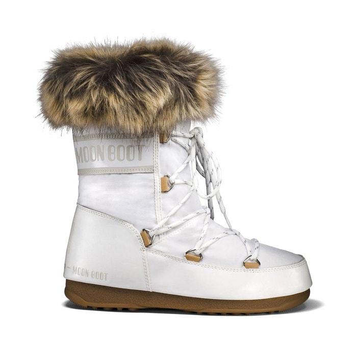 Bottes monaco low blanc Moon Boot