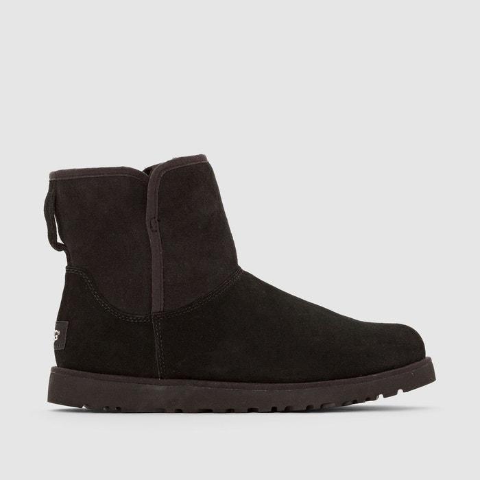 Eastbay Pas Cher Cote De Sécurité De Qualité Boots en cuir cory noir Ugg Pas Cher Combien Acheter En Ligne Pas Cher Te3Un0w5RL
