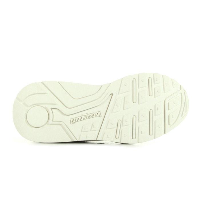 Chaussures lcs r900 w cloud jacquard e16 - le coq sportif beige et multicouleur Le Coq Sportif