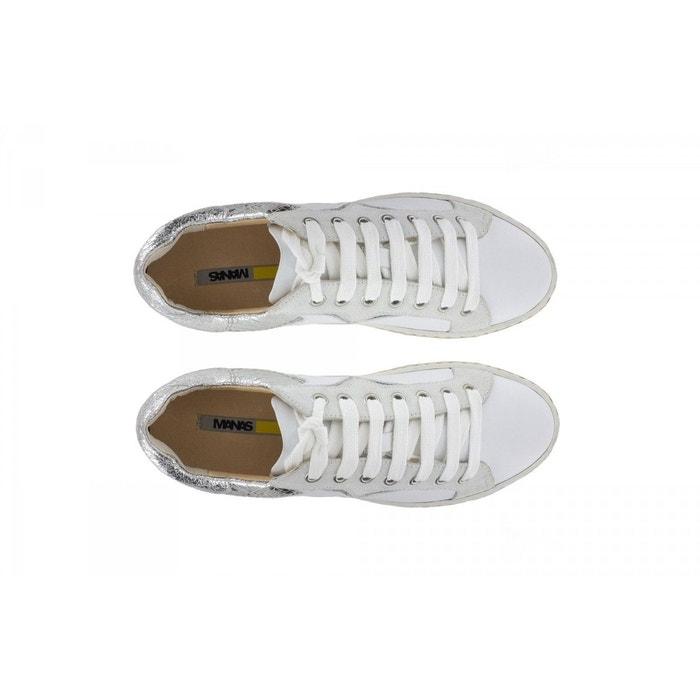 Baskets-manas blanc Manas