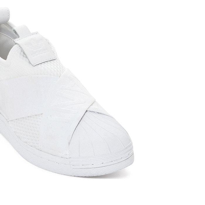 Baskets superstar slipon w blanc Adidas Originals