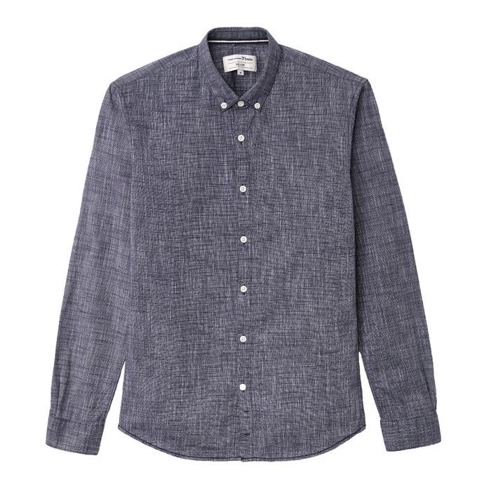Plain Long-Sleeved Shirt  TOM TAILOR image 0