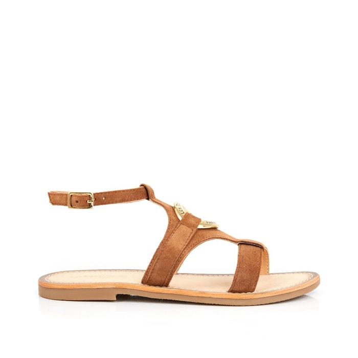 gamme exceptionnelle de styles et de couleurs boutique de sortie prix incroyable Sandales cuir Oria