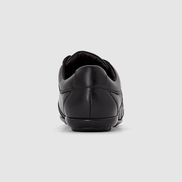 Baskets cuir toulon lace noir Levis